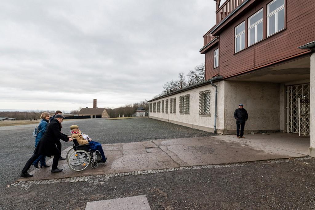 Heinrich Rotmensch Holocuasto Alemania Buchenwald