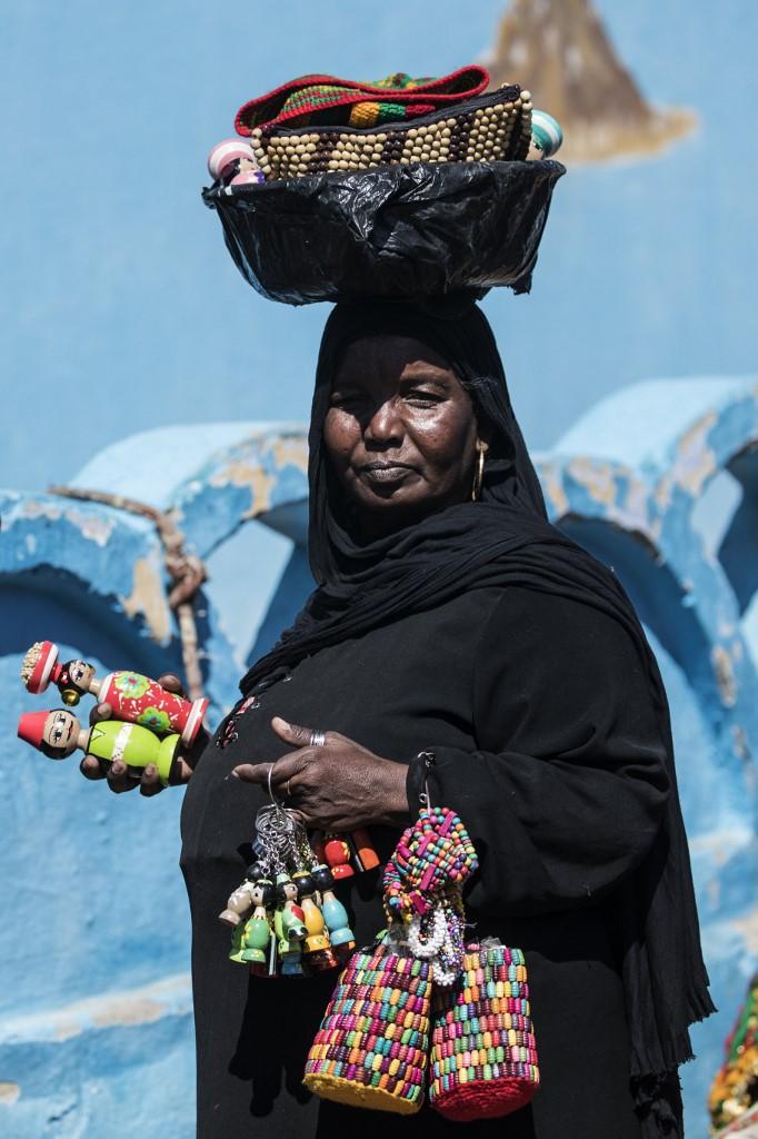mujer nubia Gharb Sohail Egipto
