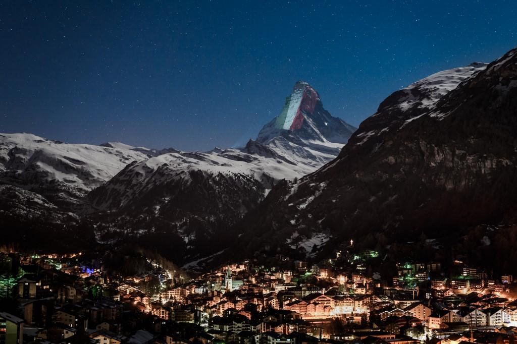 montaña Zermatt Italia