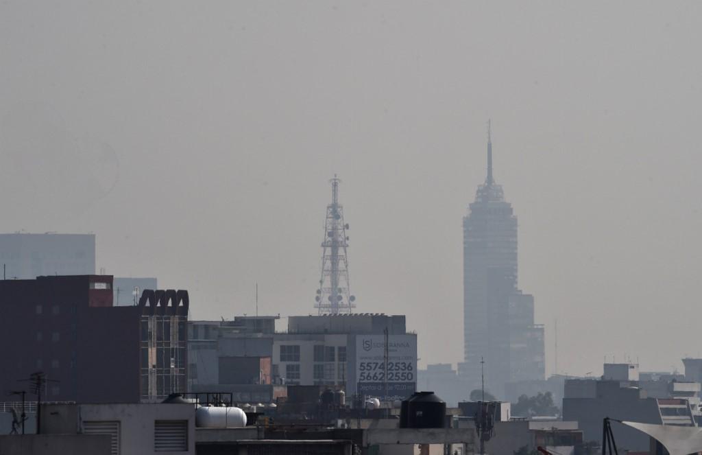 Torre Latinoamericana contamincación