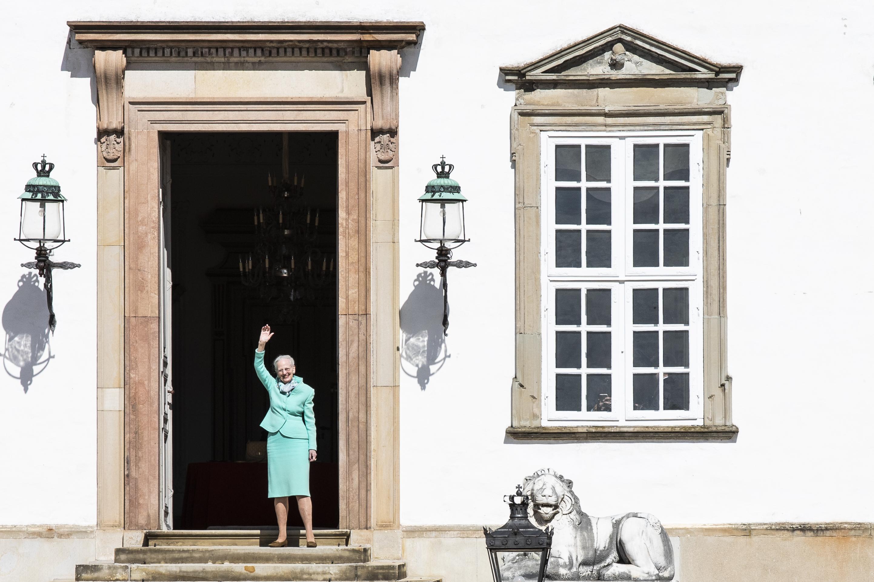 reina Margarita II cumpleaños Palacio de Fredensborg Dinamarca