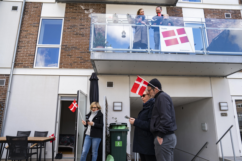 Dinamarca balcones casas Margarita II cumpleaños reina