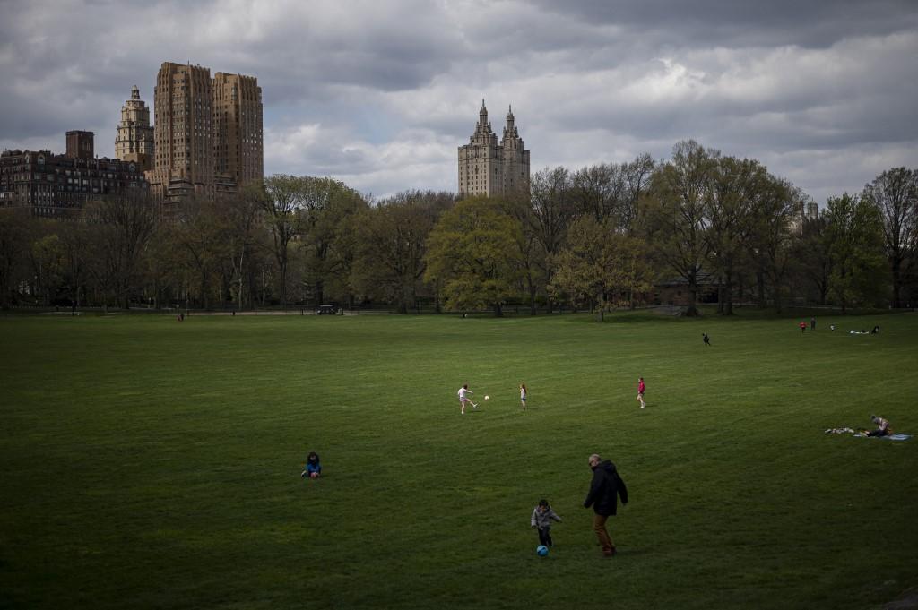 Parque Nueva York Manhattan Pandemia