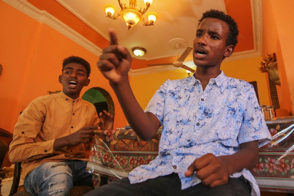 Mohamed Youssef entrevista joven Sudán