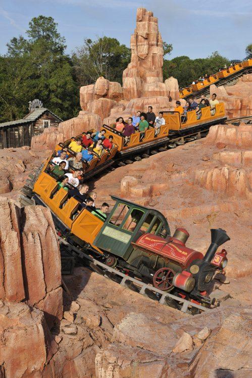 Big Thunder Mountain Railroad Walt Disney World