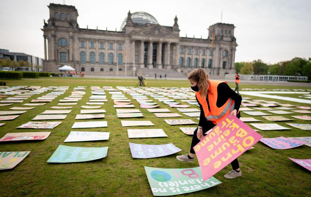 cambio climático jóvenes marchas movimientos Berlín