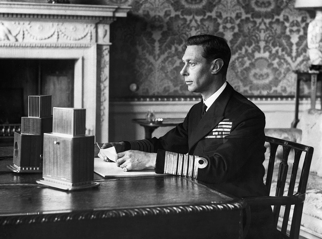 nazi canción Isabel II Gran Bretaña nazi
