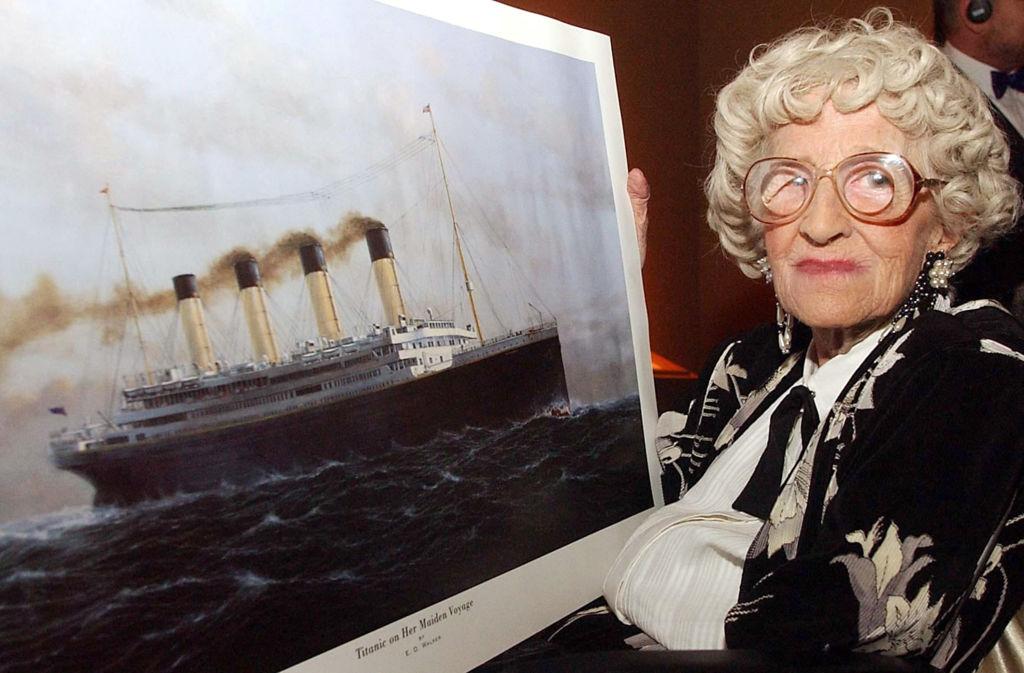 Titanic Londres Millvina Dean sobreviviente