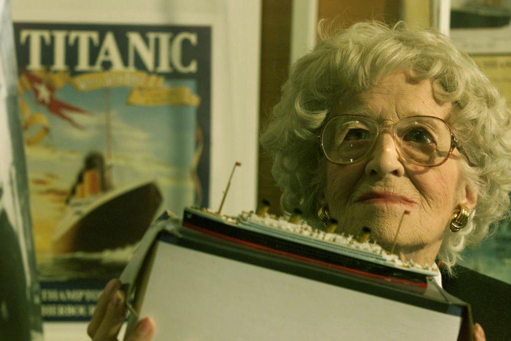 Millvina Dean Titanic Sobreviviente Inglaterra Southampton