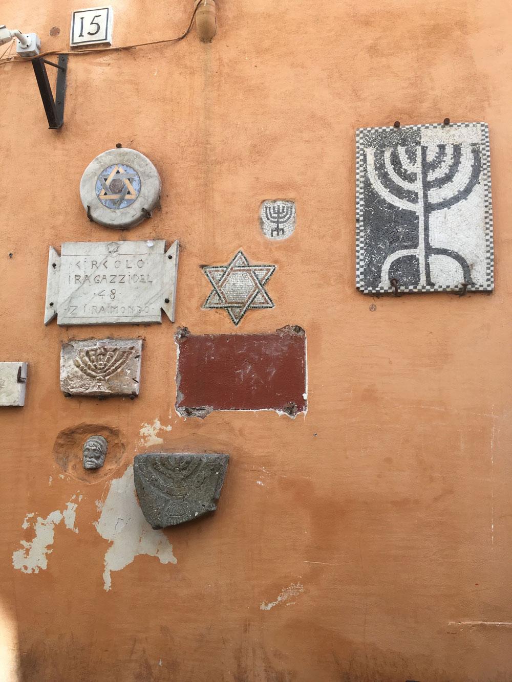 barrio judío Roma Italia