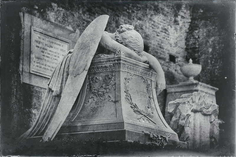 Cementerio ángel Roma Italia