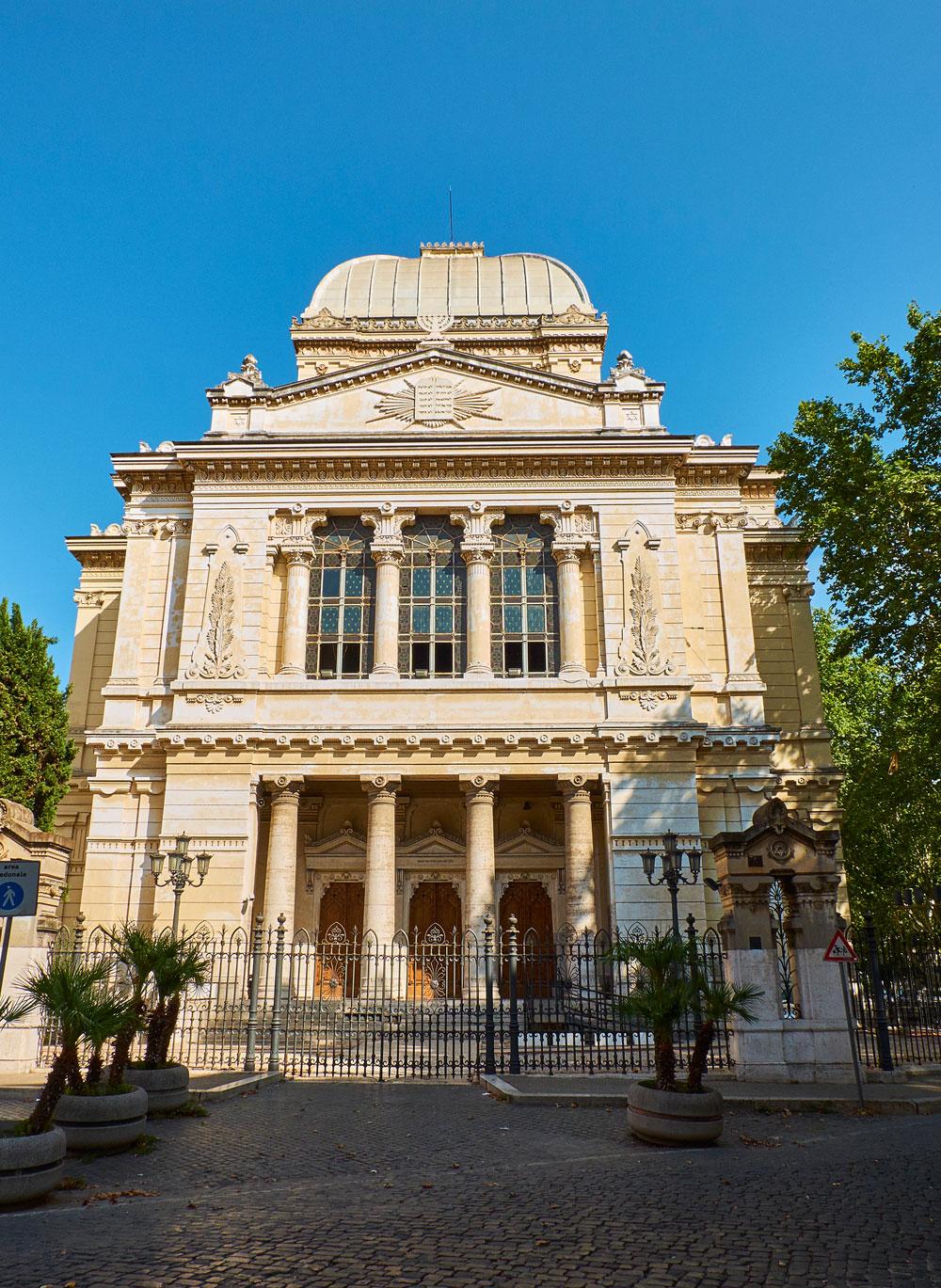 Sinagoga Roma Italia Barrio Judío