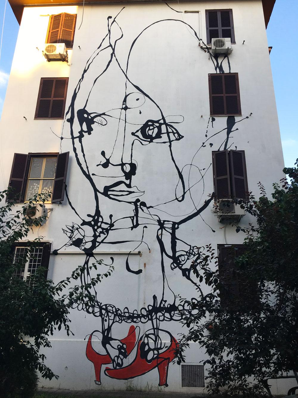 Roma Italia Murales de Tor Marancia