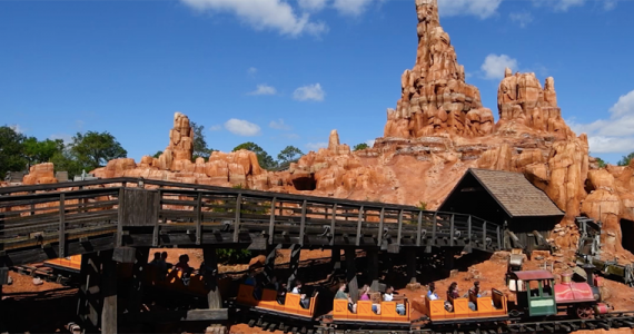 Big Thunder Mountain Railroad Walt Disney World