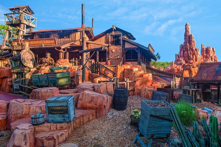pueblo fantasma Walt Disney World