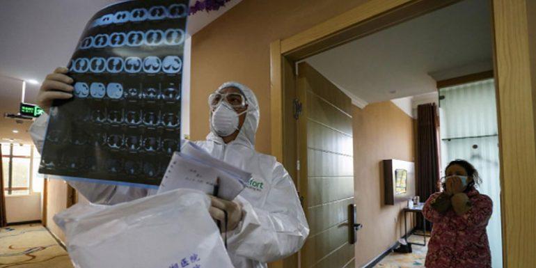 pulomes coronavirus cuerpo hospital Whuan China