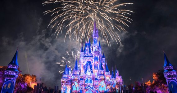 Happily Ever After Magic Kingdom Walt Disney World