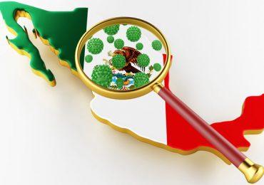 coronavirus México mapa