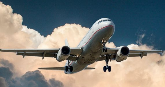 gráfica turismo aviación coronavirus