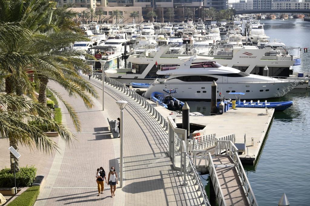 paseo marítimo de Dubái Lujo