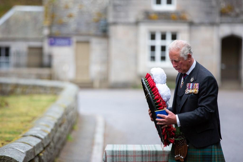 Escocia Segunda Guerra Mundial príncipe Carlos