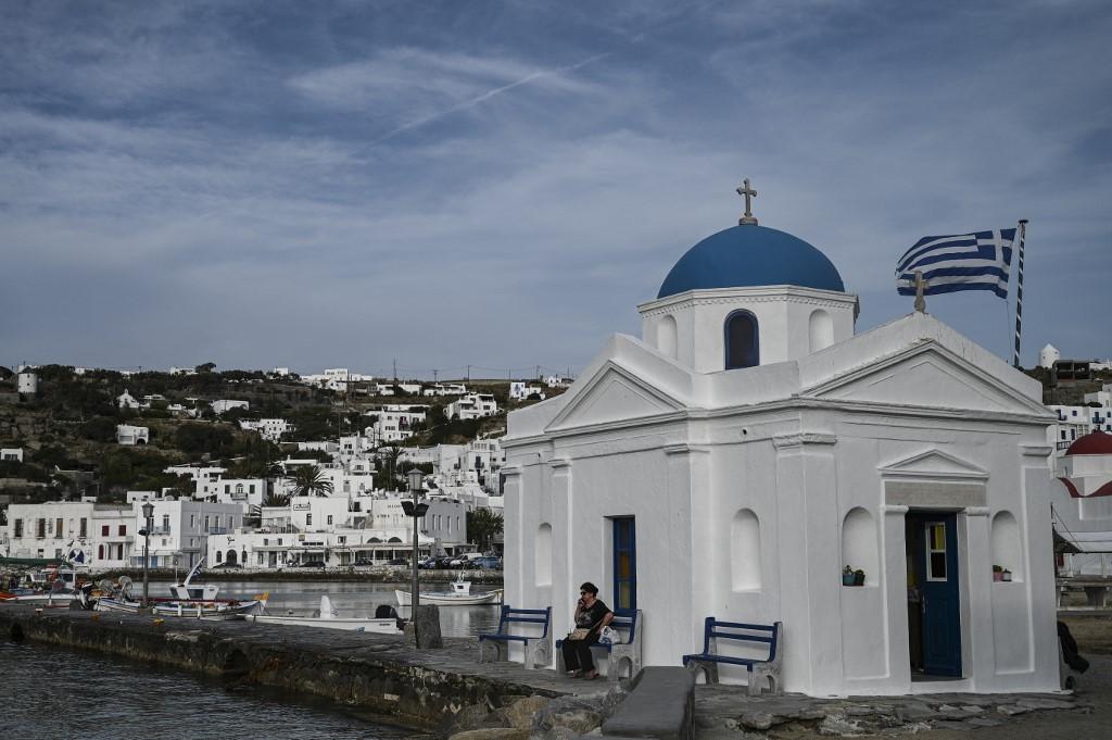 isla griega Miconos Grecia pandemia