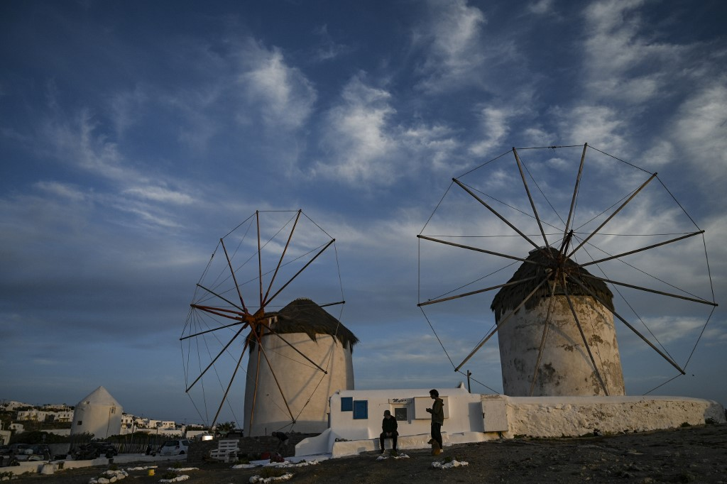 pandemia molinos Grecia