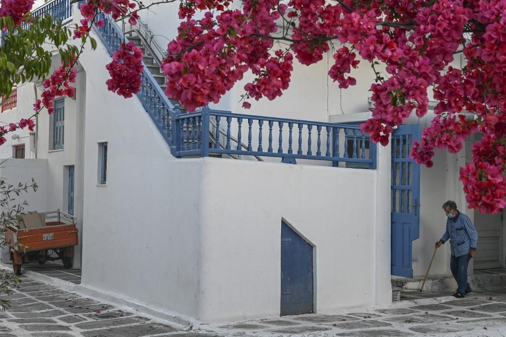 isla en Grecia Miconos