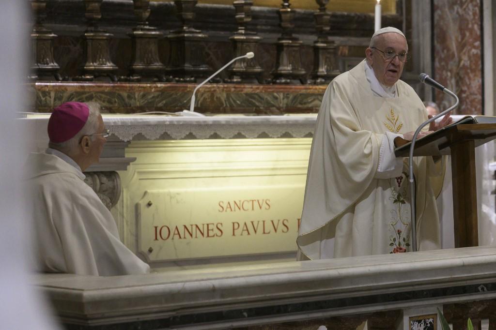 papa Francisco Papa Juan Pablo II. Vaticano
