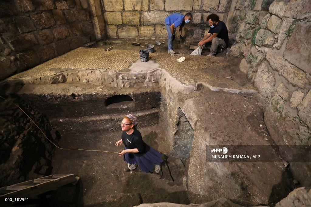 cavidades subterráneas Jerusalén Israel
