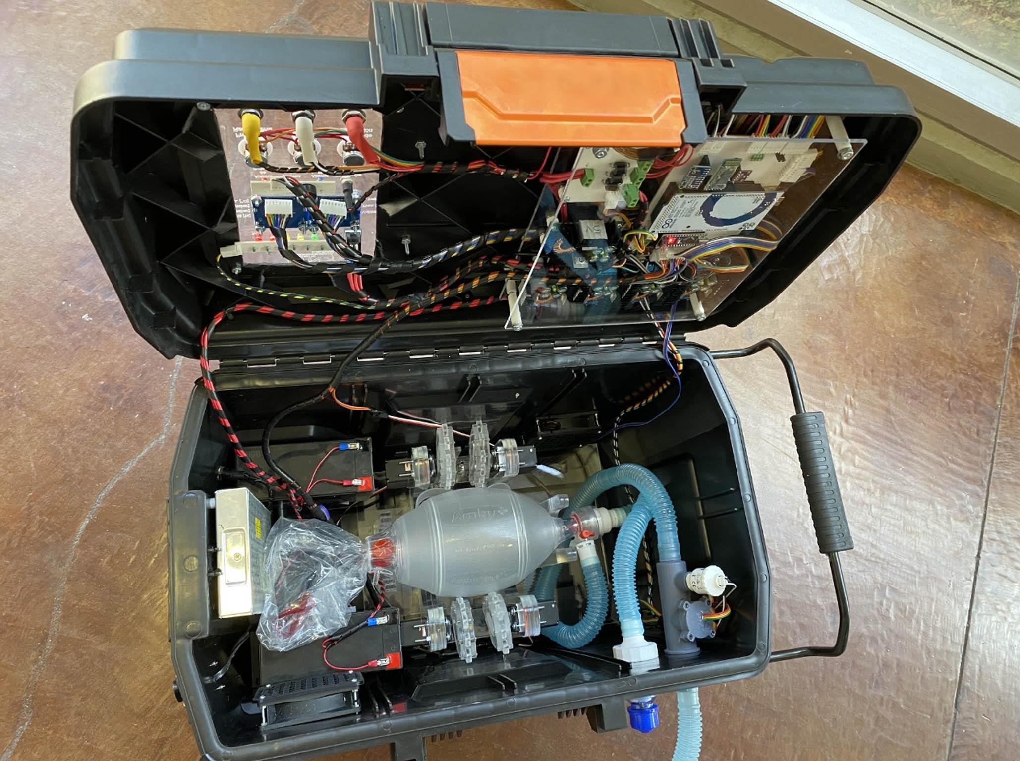 respirador portátil UNAM COVID-19
