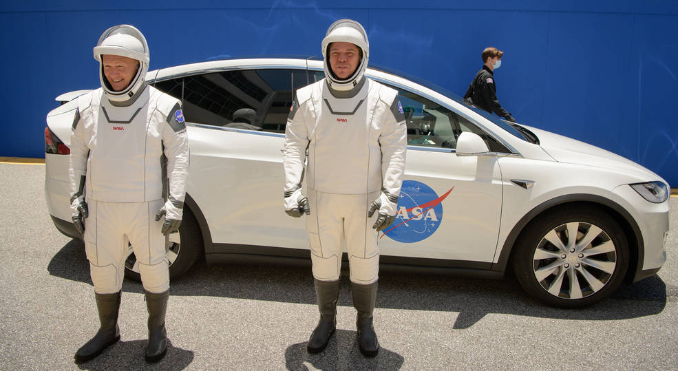 lanzamiento histórico NASA SpaceX