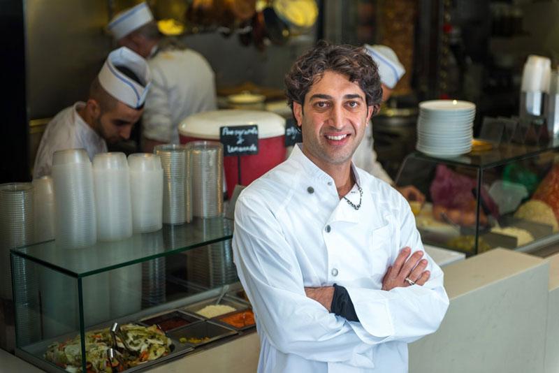 chef Israel Ariel Rosenthal