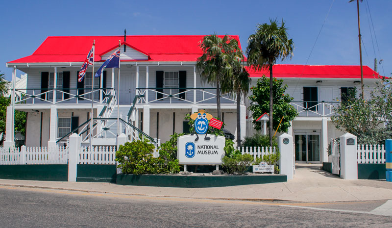 Museo Nacional Caribe galería Islas Caimán