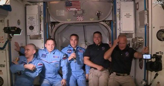 NASA Estación Espacial Internacional astronautas