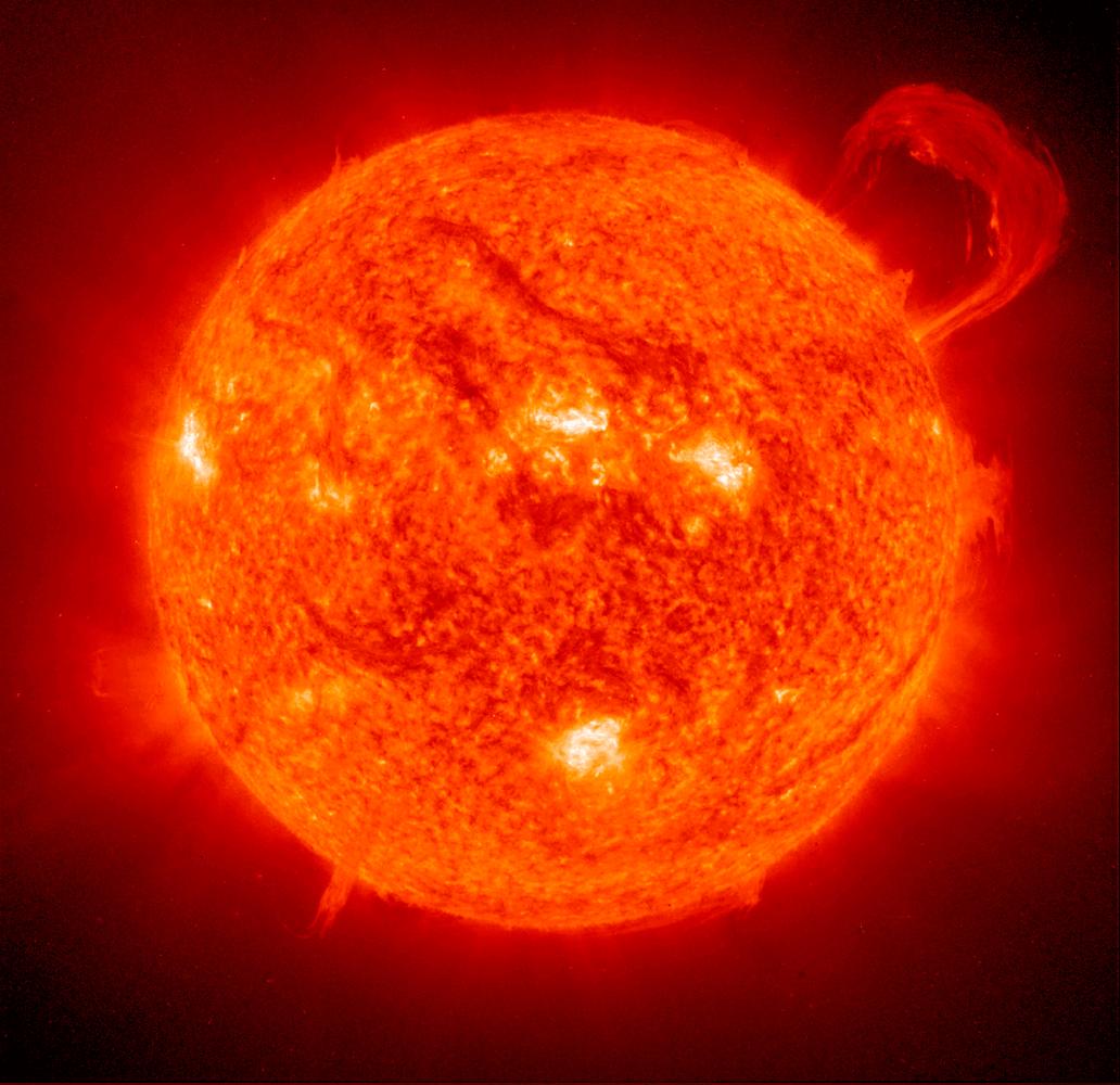 baja actividad solar Sol Planeta