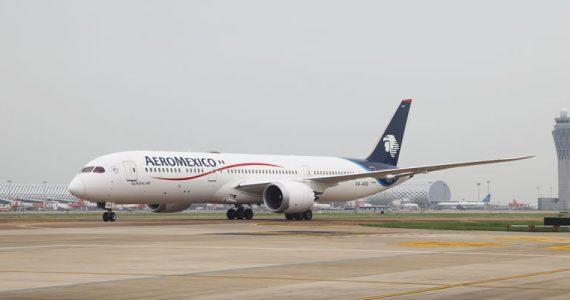 Aeroméxico vuelos sin escalas China México