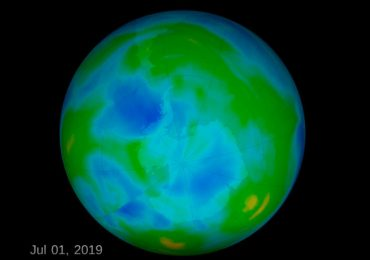 Ártico hoyo capa de ozono UNAM