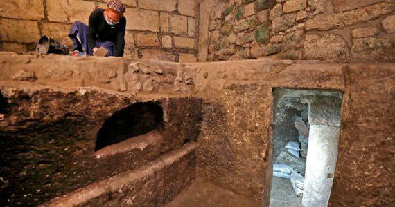 cavidades subterráneas Muro de las Lamentaciones Jerusalén
