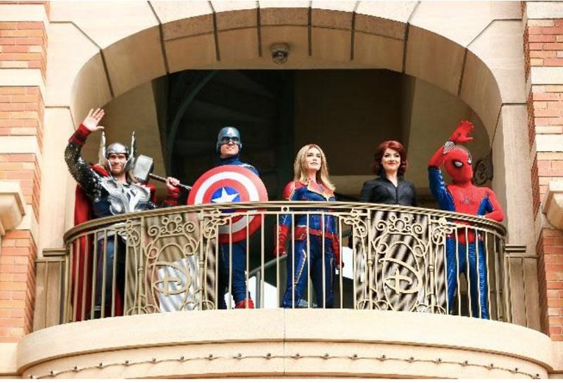 Disneyland en Shanghái superhéroes reapertura