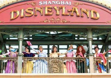 Disneyland de Shanghái Mickey Minnie princesas