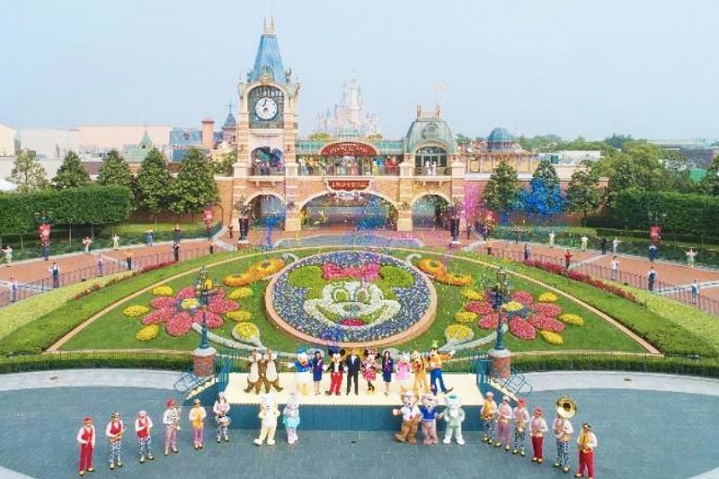 Disneyland en Shanghái Mickey Minnie reapertura