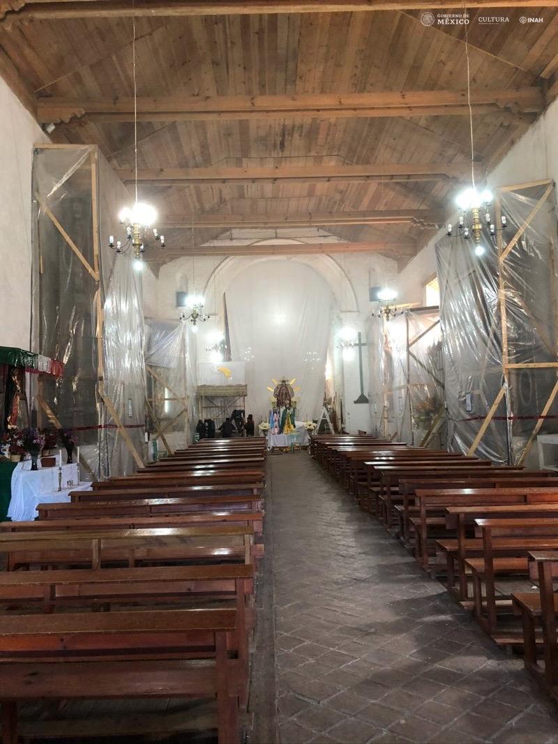 San Cristobal de las Casas inscripción retablo