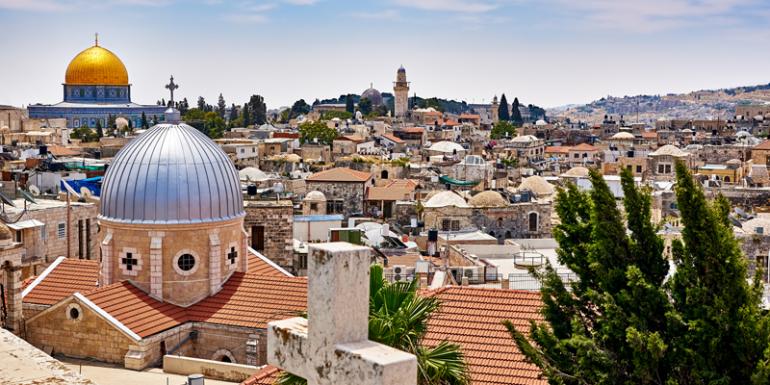 Jerusalén Israel virtual Santo Sepulcro