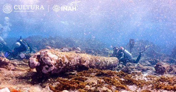 buzos vestigios subacuáticos pecio naufragio