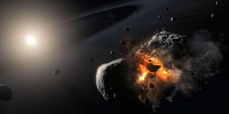estrella Fomalhaut planeta sistema solar colisión