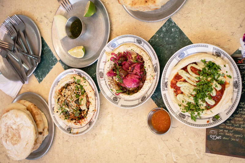 Hummus receta Israel