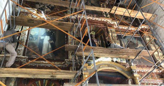 retablo San Felipe Ecatepec Chiapas San Cristobal de las Csas