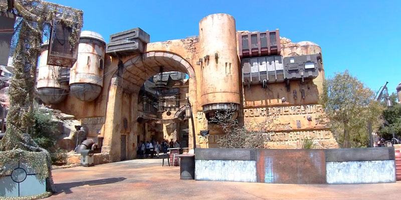 Disneyland Resort Star Wars mercado
