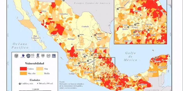 Atlas de Vulnerabilidad México COVID-19